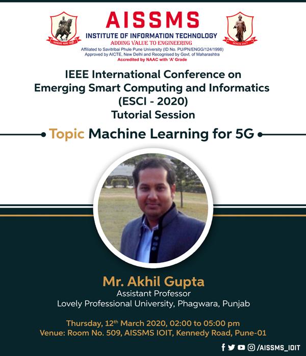 Mr Akhil Gupta