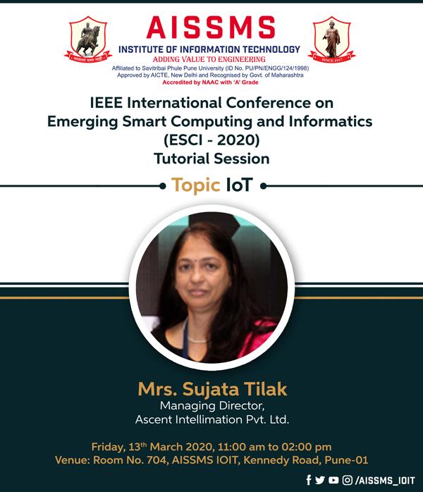 Mrs Sujata Tilak