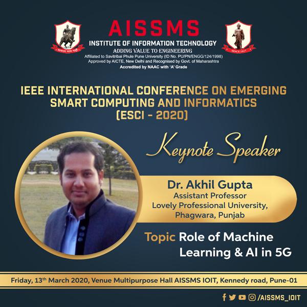 Dr Akhil Gupta
