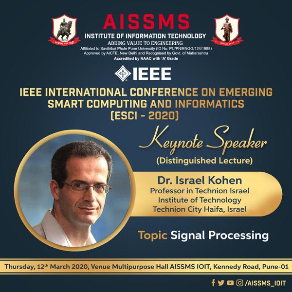 Dr Israel Cohen