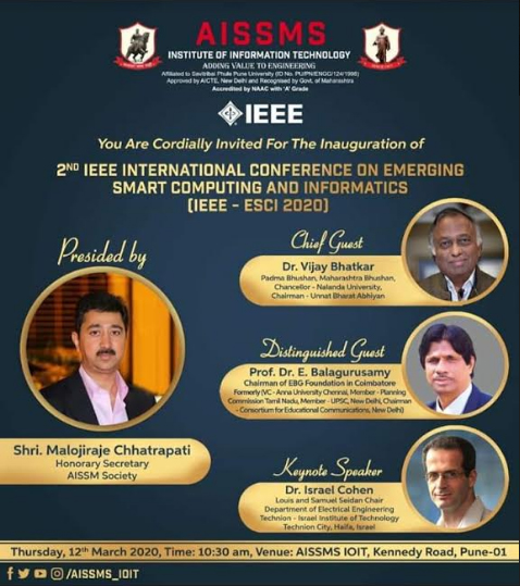 2<sup>nd</sup> IEEE International Conference